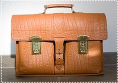 High school - and my parents gave me a leather bag much like this (New South Wales). Each Aussie State had its own names and designs for school baggage!