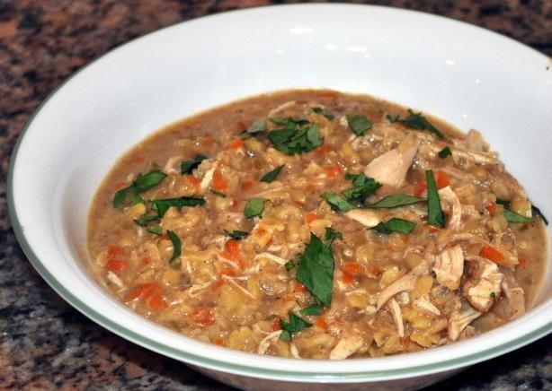 Red Lentil And Chicken Soup - Indian Style Recipe - Food.com - 483043