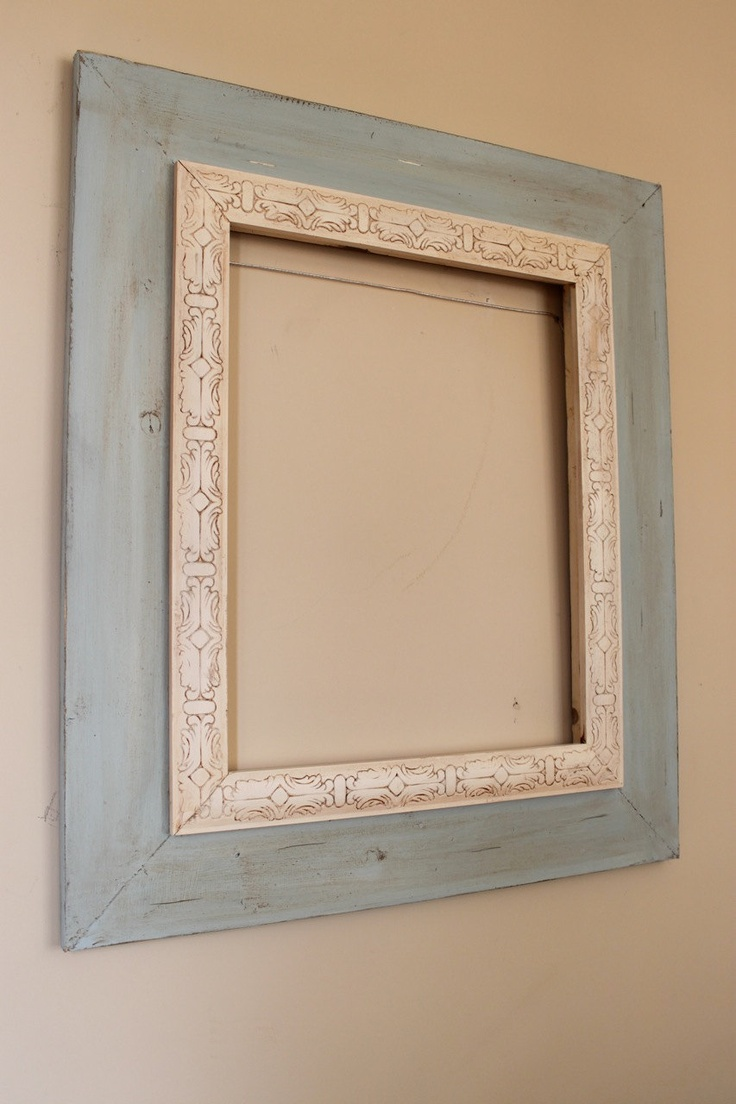 16x20 Distressed Open Back Frame Rain and by deltagirlframes, $195.00