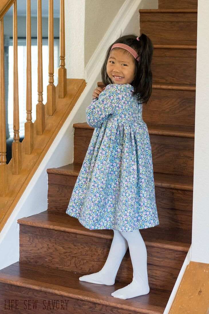 Free Dress Pattern In Flannel Toddler Dress Patterns Diy Toddler Dress Toddler Dress Pattern Free Sewing