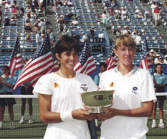 Gigi Fernandez et Steffi Graf
