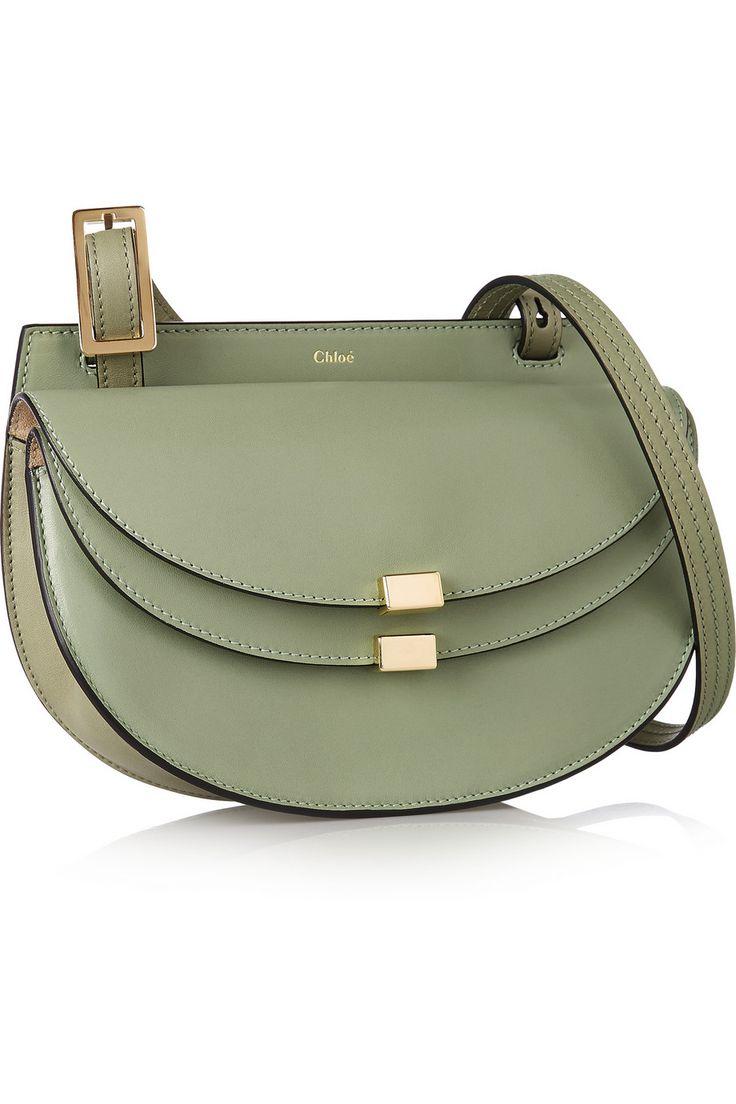 Chloé|Georgia mini leather shoulder bag|NET-A-PORTER.COM