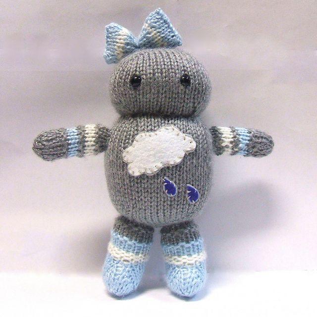 Ravelry: Rainy Day Robot pattern by Mari Campbell