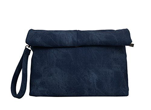 New Trending Clutch Bags: Fashion Shop Jean Casual Clutch Bag Envelope bag For Women (Navy). Fashion Shop Jean Casual Clutch Bag Envelope bag For Women (Navy)   Special Offer: $18.69      422 Reviews Item Description Style: Jean canvas handbag for both men and women Material: Jean cotton canvas Size: height 12.5″ x 8.66″ x 2.55″ (32x22x6.5cm). Weight: 0.93 KG...