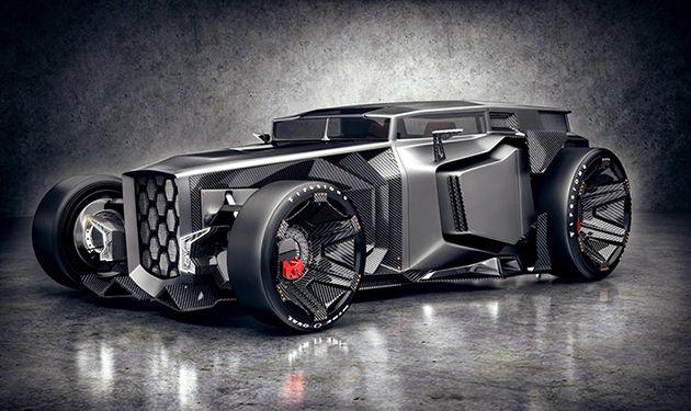Lamborghini Rat Rod 2