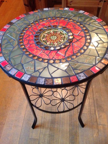 die 120 besten bilder zu mosaiktische mosaic tables auf pinterest mosaiktische mosaik und. Black Bedroom Furniture Sets. Home Design Ideas