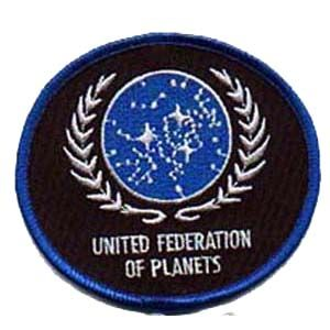 """Star Trek United Federation of Planets (UFP) 4"""" Patch ..."""