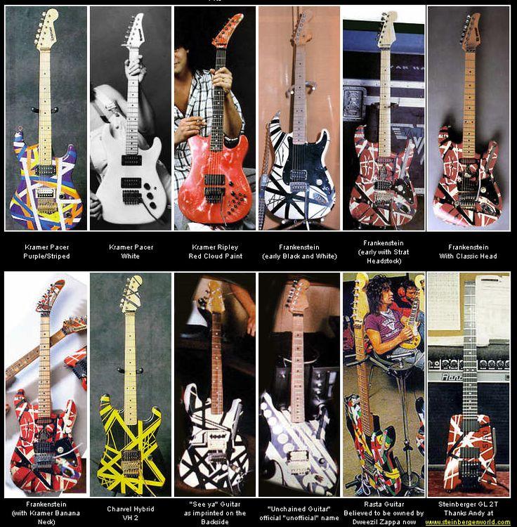 Edward Van Halen guitar pics - Google Search