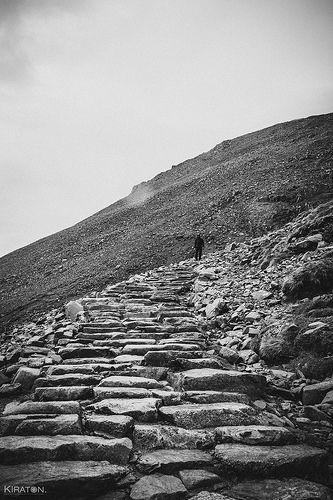 Wanderung zum Ben Nevis, Schottland