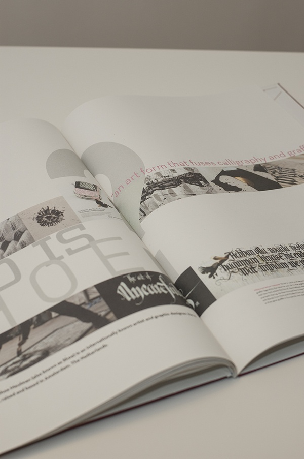 Vis Com - Book by Petter Bratland, via Behance