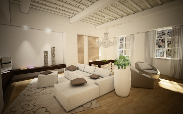 Renovation of an historical palace in the city centre of Lucca - Apartment n.2
