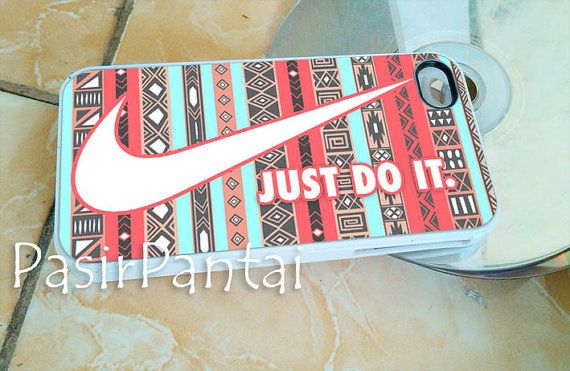 Nike aztec red just do it   iPhone 4/4s/5/5c/5s by pantaipasire, $14.00