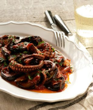 Braised Octopus