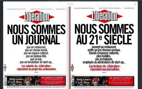 Libération : les lecteurs agacés détournent la Une - France Info