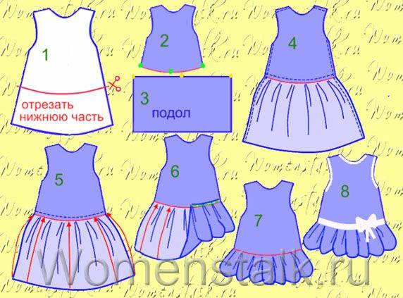 muchos patrones de vestidos para niñas hermosos