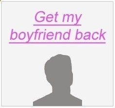 how to get ex boyfriend back through text