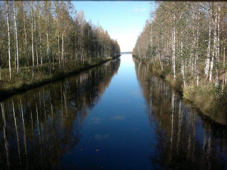 Kyrkösjärvi in Seinäjoki Finland