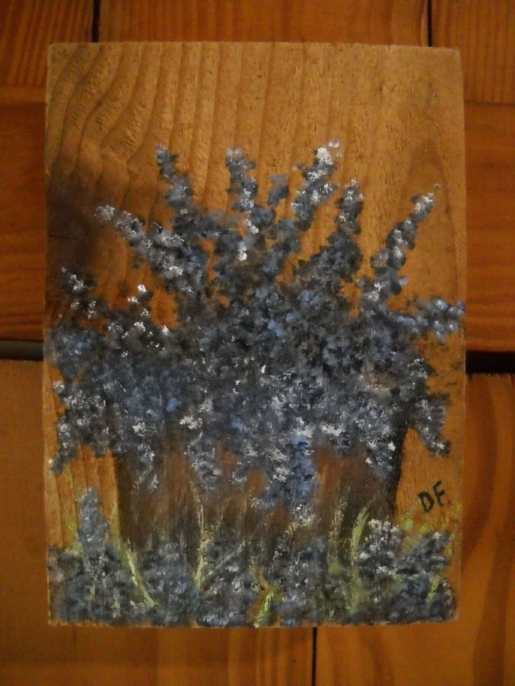 Bluebonnets, Bluebonnets on Wood, Bluebonnets on Wood Plaque, Rustic Wall Decor, Basket of Flowers Texas Bluebonnets, Wall Hanging Decor by SoftSpokenTexasGal on Etsy