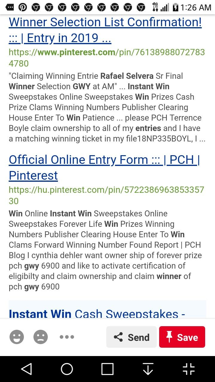 Pch Enter To Win