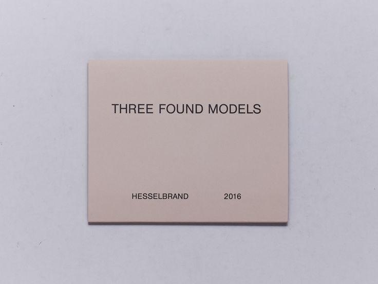 Three Found Models - Antenne Books