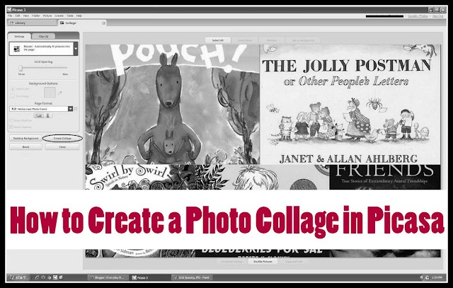 Everyday Reading: Creating Picture Collages: A Brief Tutorial