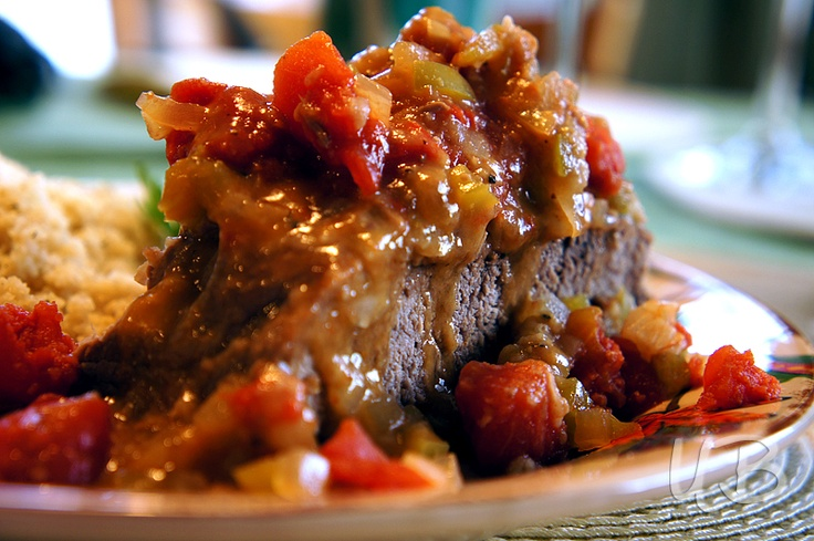 Delicious recipe for Swiss Steak with Gravy!