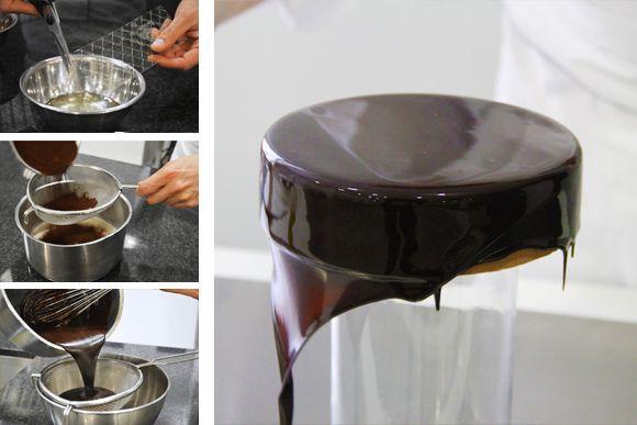 Técnica: Aprende a preparar un glaseado de espejo - Foto 1