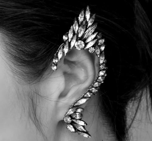 jeweled.Fashion, Fairies, Elf Ears, Ear Cuffs, Jewelry, Accessories, Elves, Earrings, Ears Cuffs