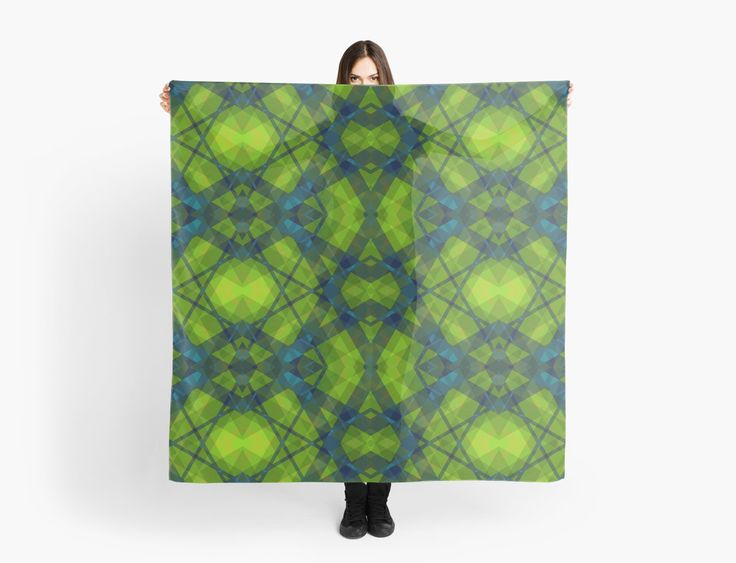Kaleidoscope Green by scardesign11  #scarf #buyscarves #scarves #fashion #fashionscarves #plaidscarf #artprint #metalprint #pouch #home #homedecor #homegifts #laptopsleeve #leggings #skirt #scarf #fashion #buyplaidTshirt #plaidleggings #giftsforher #gifts #giftsforteens #womengifts #running #runningclothes #gym #gymclothes #gymleggings #plaidscarf