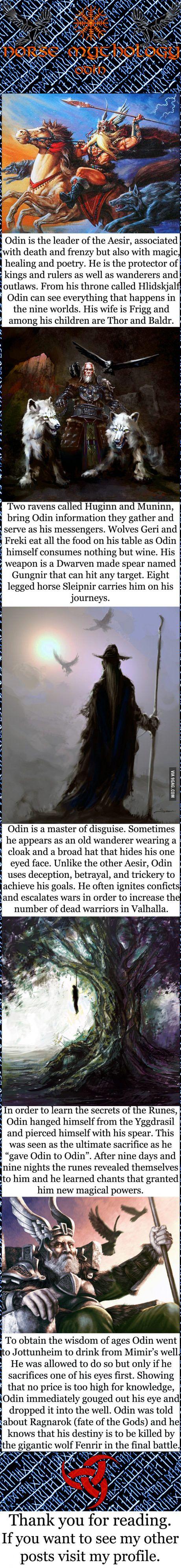 Norse mythology - Odin                                                                                                                                                                                 More