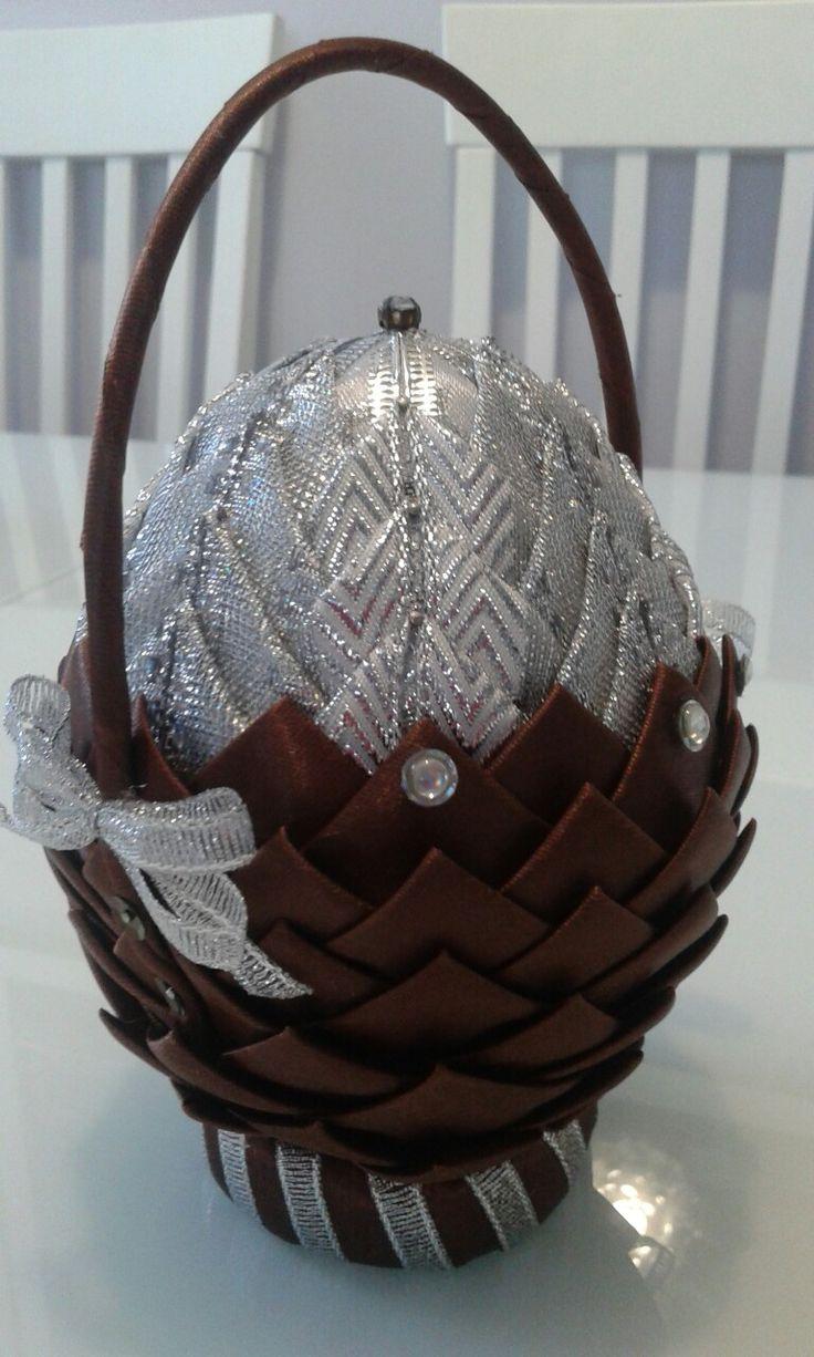Jajko styropianowe koszyczek, karczoch