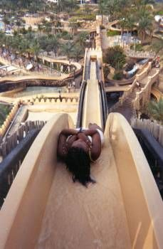 insane water slide (dubai)