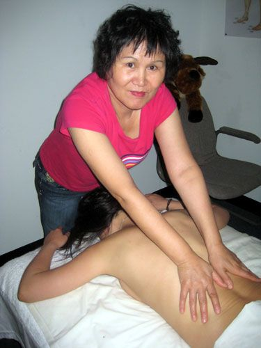 Asian massage spa revealed