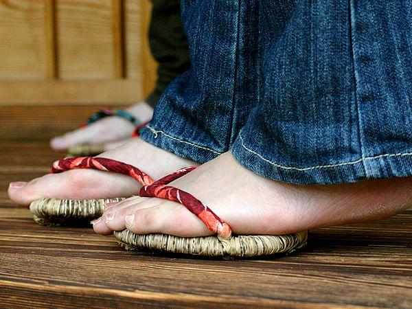 足半(あしなか)ぞうり ダイエット 健康 スリッパ 室内履き bamboo 虎斑竹専門店 竹虎