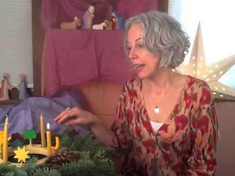 Celebrating Advent With Children: Sarah Baldwin, Video #2 | Moon Child Blog - Bella Luna Toys - Sarah Baldwin