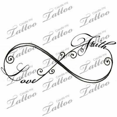 Infinity love faith