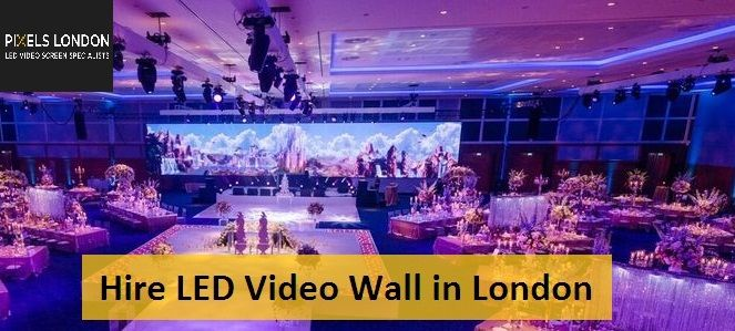 Using LED panels on stage and as big screen  Also using for reveal