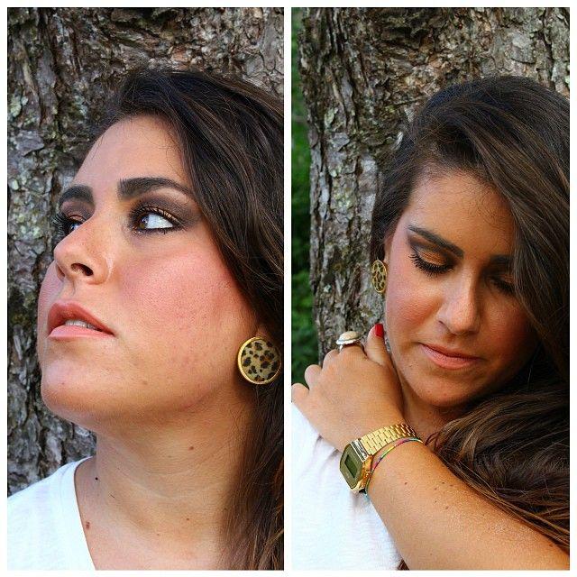 #makeup #faceoftheday #fotd #fashionthings #fashion #bronzelook #accessorize #casio #casiogold #italiangirl #girl #igaddicted #instafashion #instamakeup #gold #scattiitaliani #instaitaly #likesforlikes #followme #followforfollow #leopard #maculato #luisa