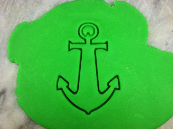 Anchor Cookie Cutter  CHOOSE Your OWN SIZE  by TheCookieCutterLady