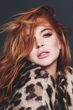 Lindsay Lohan Editorial for 'Wonderland' Magazine