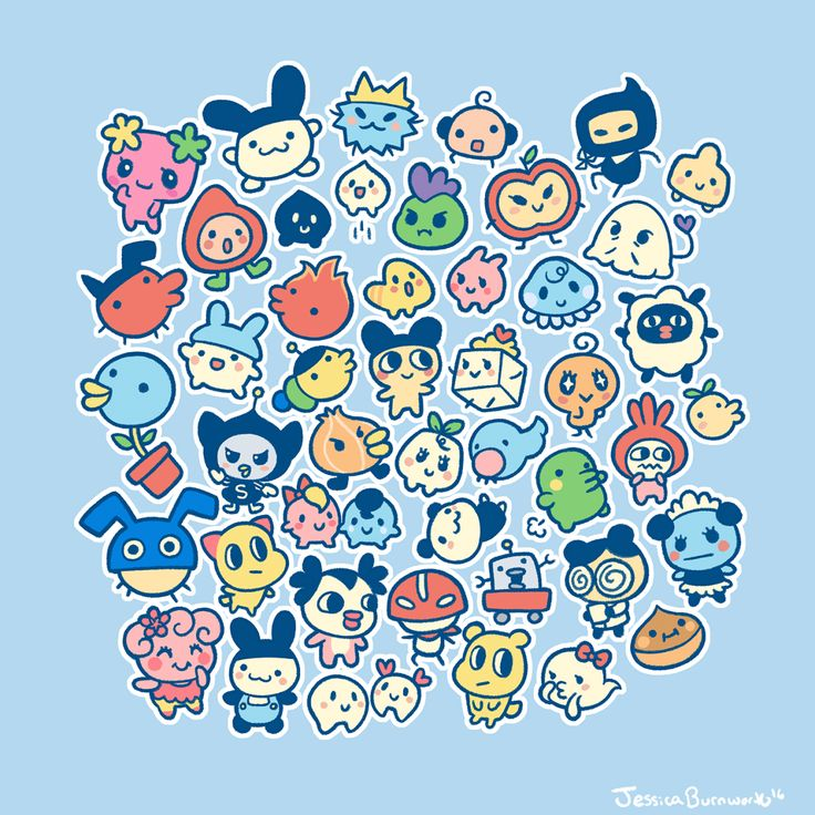 SakuraLove's Tamagotchis — boooworth:   So many babies