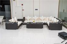 muebles de salón de la cubierta reclinable sofá de la esquina de la rota