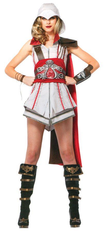 Assassin's Creed Female Ezio Auditore Costume UAAC85342