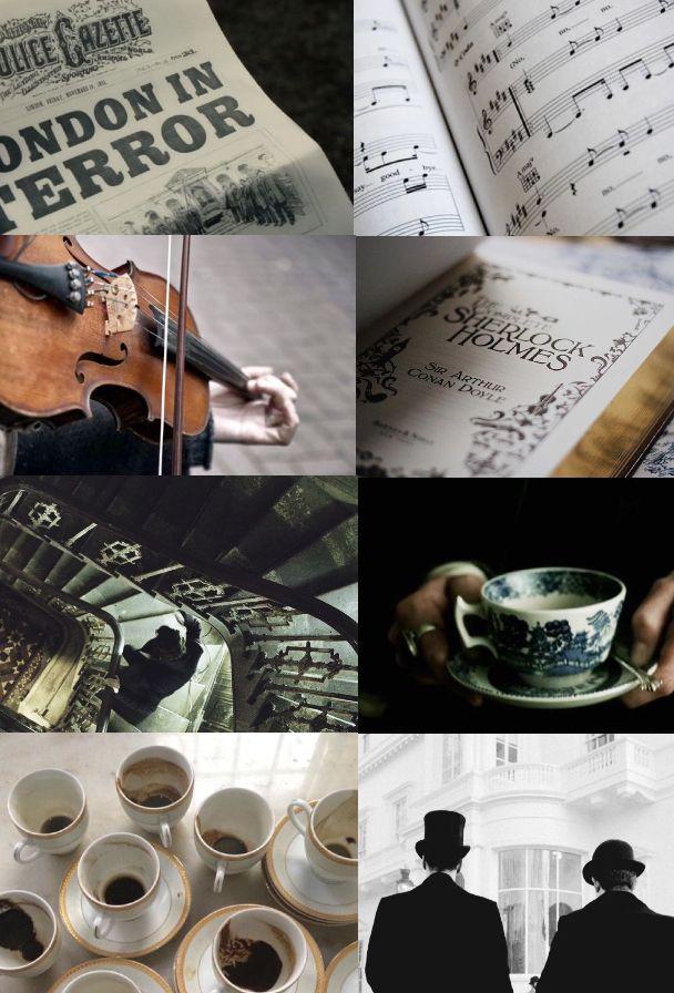 Sherlock Holmes aesthetic by AnnBonapard. #sherlock