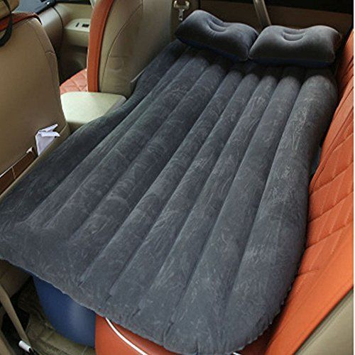 Four Colors Inflatable Travel Car Seat Rest Mattress Air Bed with Pillow&Pump 1. 100% Brand new 2. Made of high quality and durable materials 3. Folding and portable, easier to carry Detail: Materials: PVC Colors: Black / Orange / Green / Grey Size: 140 x 90 x 48 cm / 54.6 x 35.1 x 18.7 inch.... more details at https://www.bestselleroutlet.net/camping/sleeping-bags-camp-bedding/air-mattresses/product-review-for-car-cushion-air-bed-bedroom-beach-lawn-inflation-travel-thick #carcampingnet