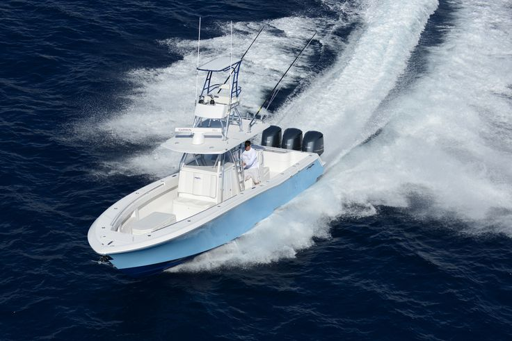 Invincible Sport Fishing 36' Open Fisherman Boat - Seatech Marine Products & Daily Watermakers
