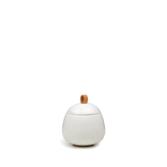 Mellibi Storage Jar White Small