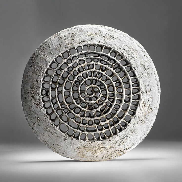 Double spiral wheel by Barbro Åberg.