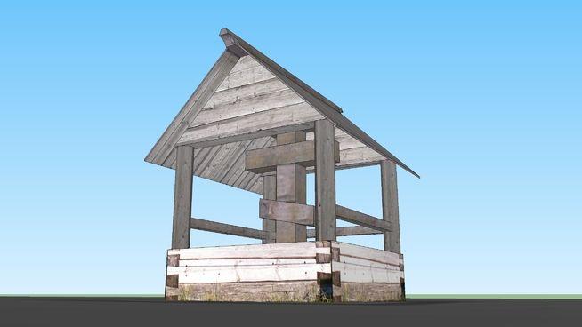 Поклонный крест из д. Чуйнаволок - 3D Warehouse