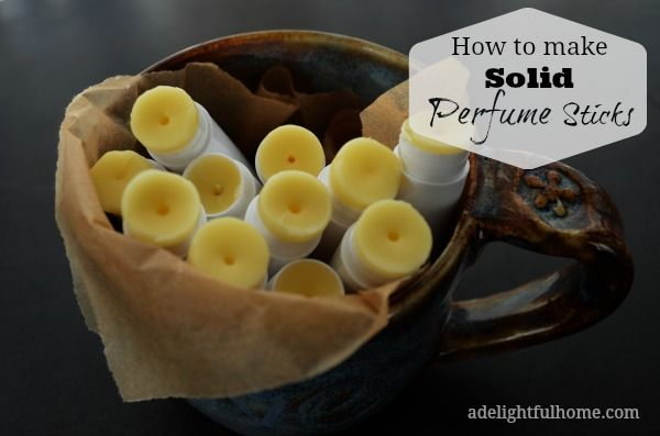 How to make Solid Perfume Sticks..easy to make!